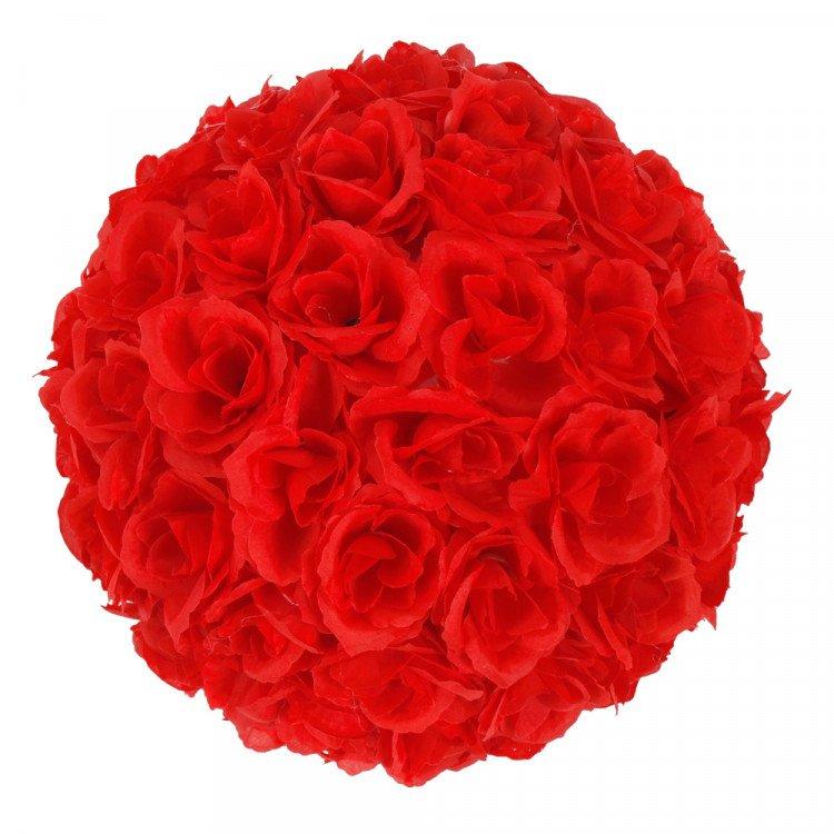 Rose Balls Red