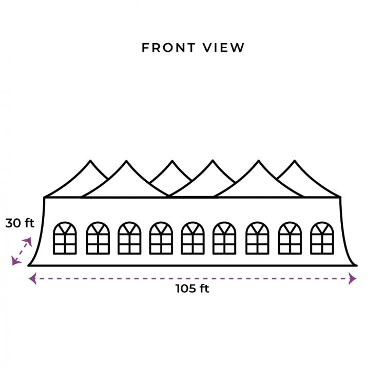 30x105 Genesis Tent