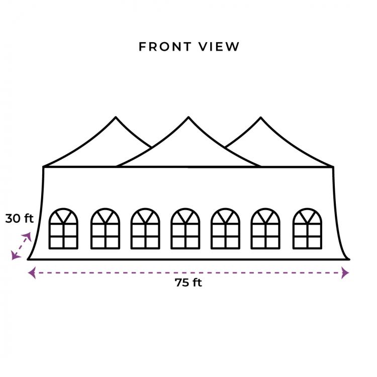 30x75 Genesis Tent