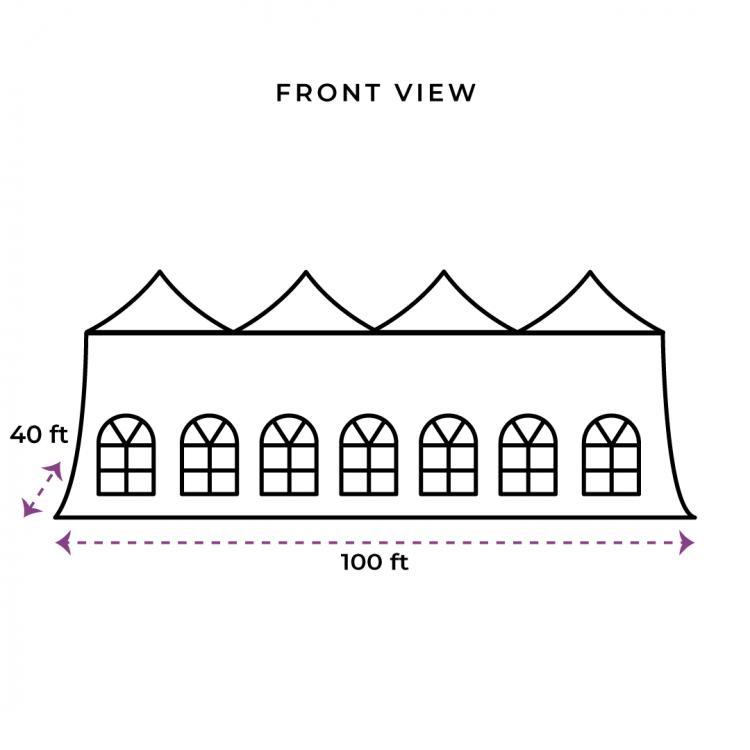40X100 Evo Tent