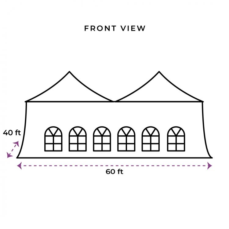 40X60 Evo Tent