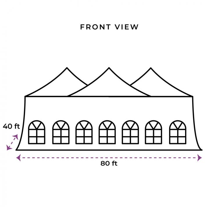 40X80 Evo Tent