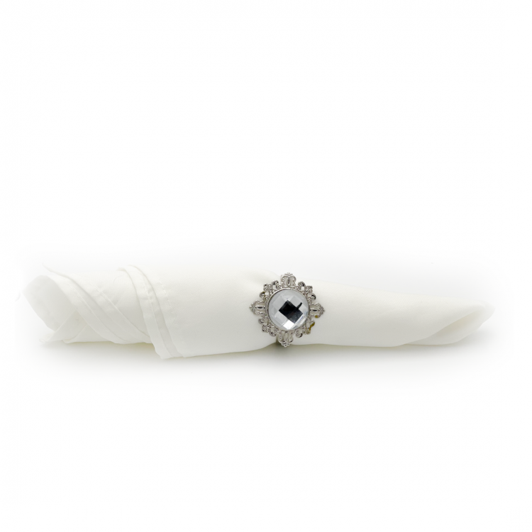 Clear Napkin Rings