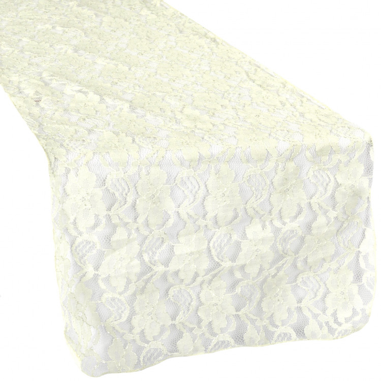 Ivory, Lace Runner