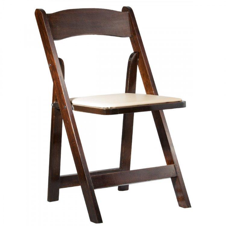 Oak Padded Chair