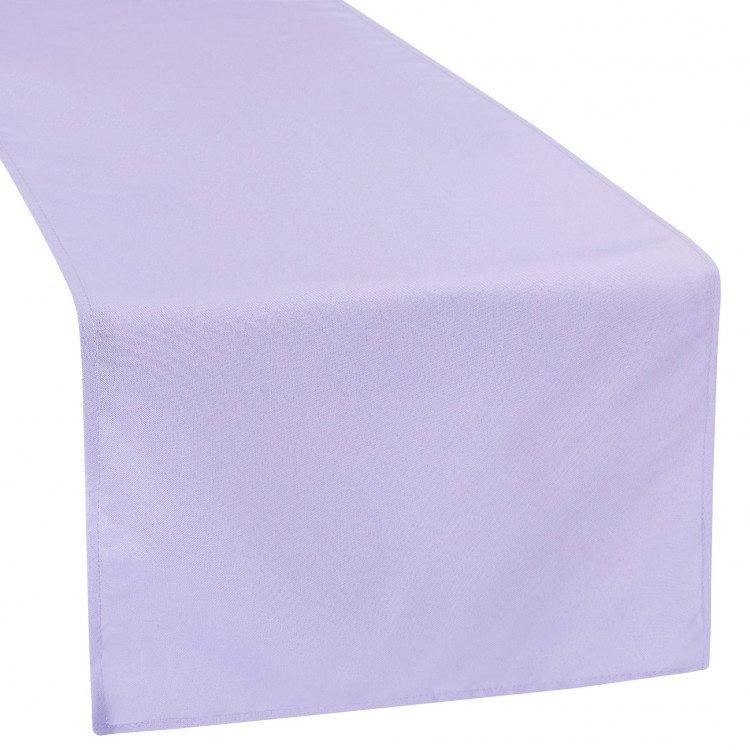 Purple, Lavender Polyester Runner