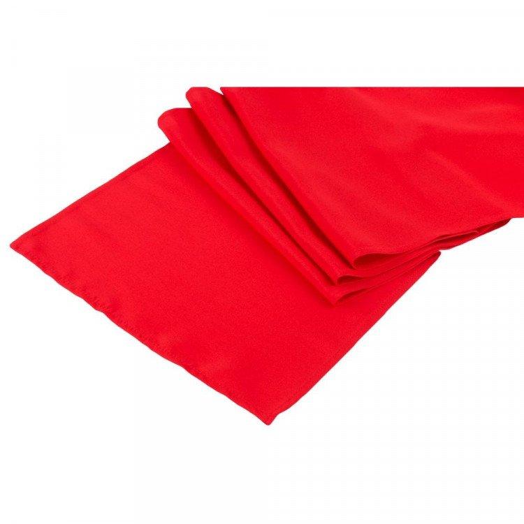 Red, Crimson Polyester Runner