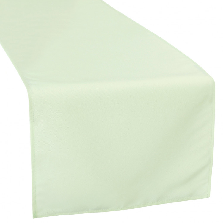 Green, Sage Polyester Runner