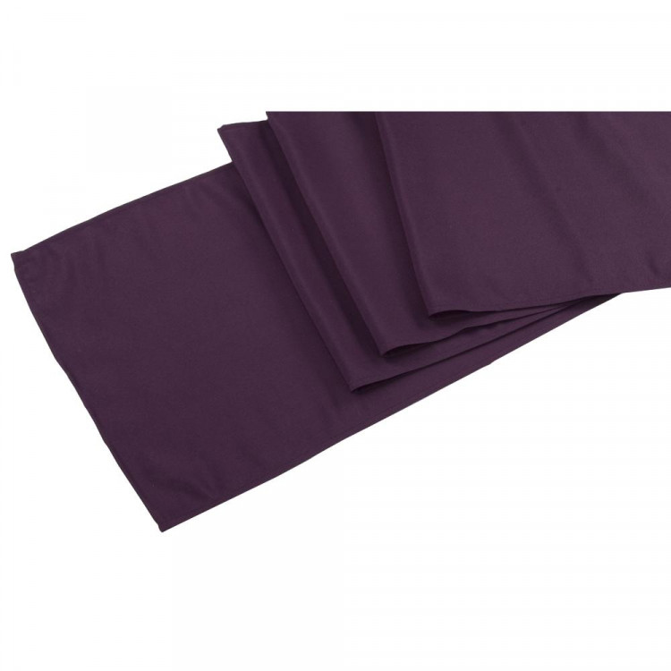 Purple, Eggplant Polyester Runner