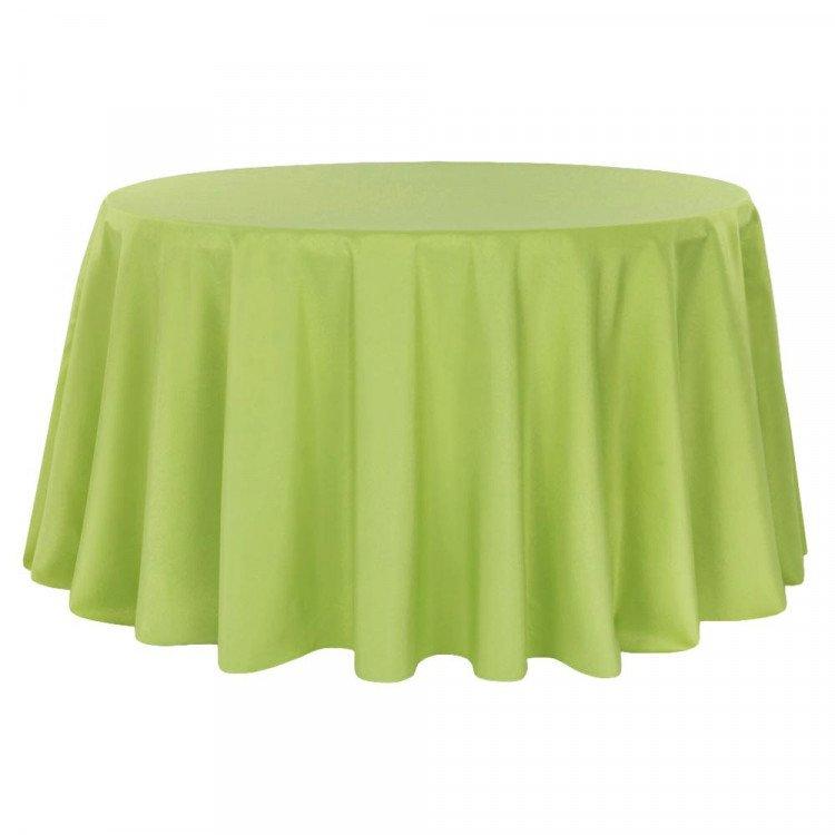 Green, Apple Taffeta Floor Length Round
