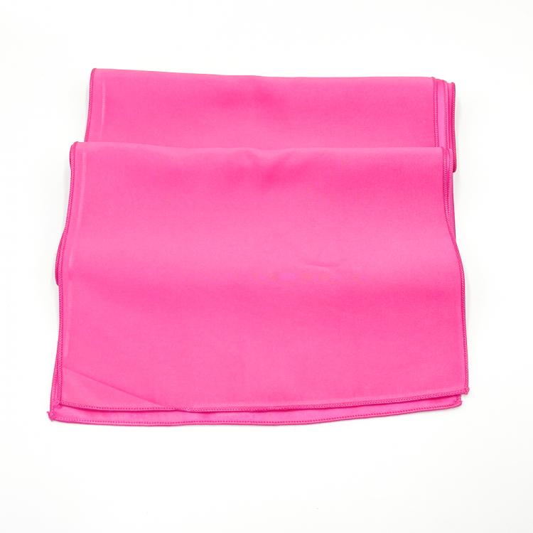Pink, Hot Matte Satin Runner