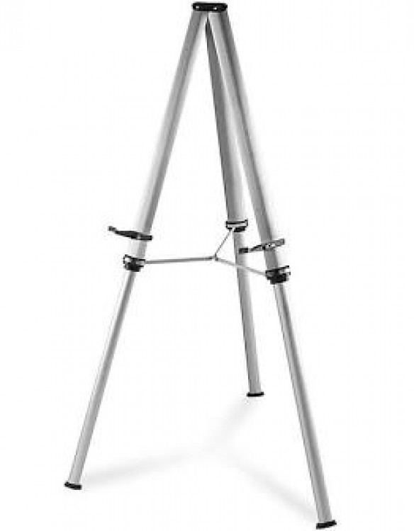 Silver Easel, Large