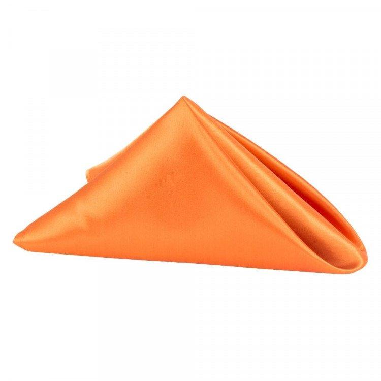 Orange, Satin Napkin