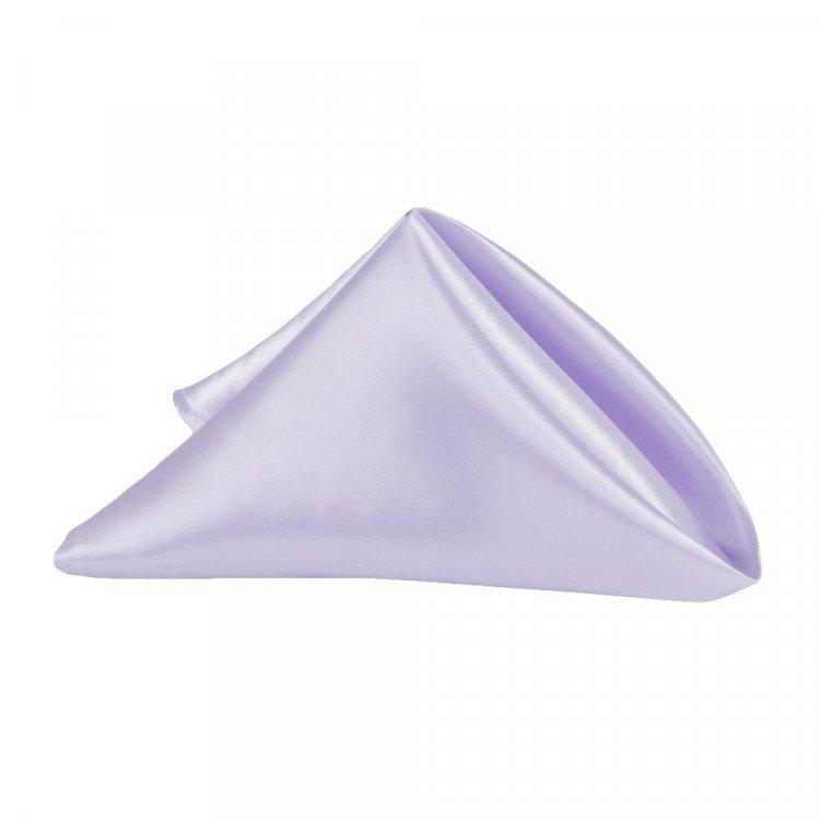 Purple, Lavender Matte Satin Napkin