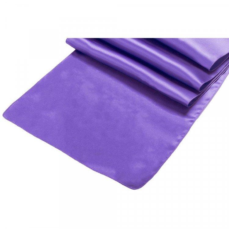 Purple, Royal Satin Runner
