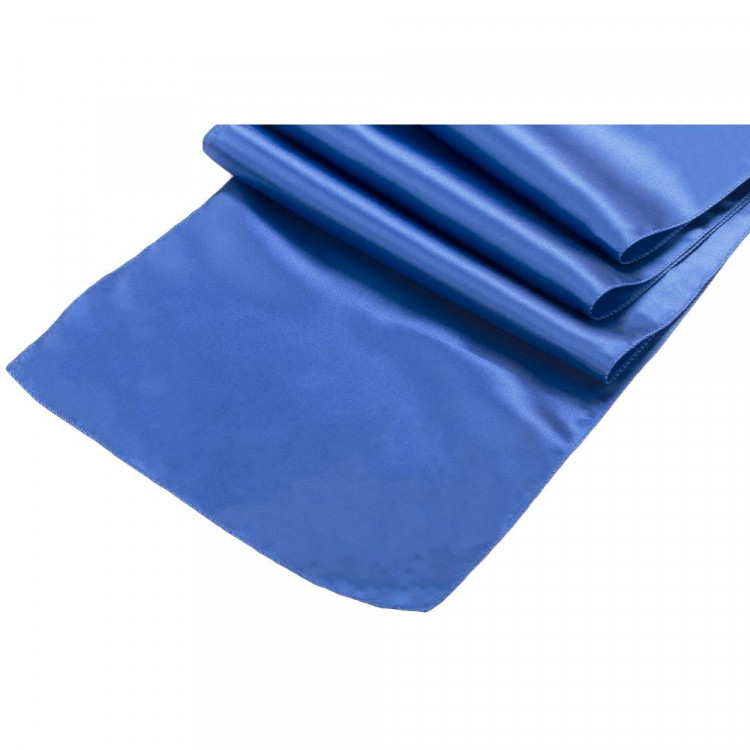 Blue, Royal Satin Runner