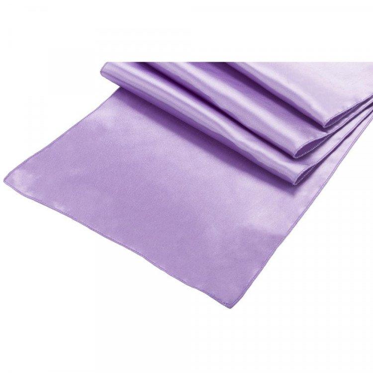 Purple, Antique Satin Runner