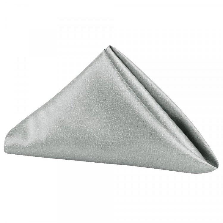 Silver, Taffeta Napkin