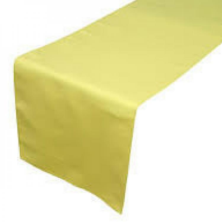 Yellow, Bright Satin Runner