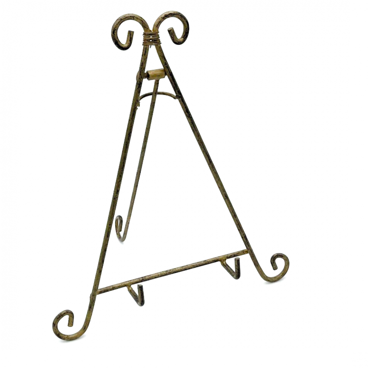 Gold Easel, Small
