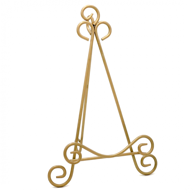Bright Gold Easel, Large