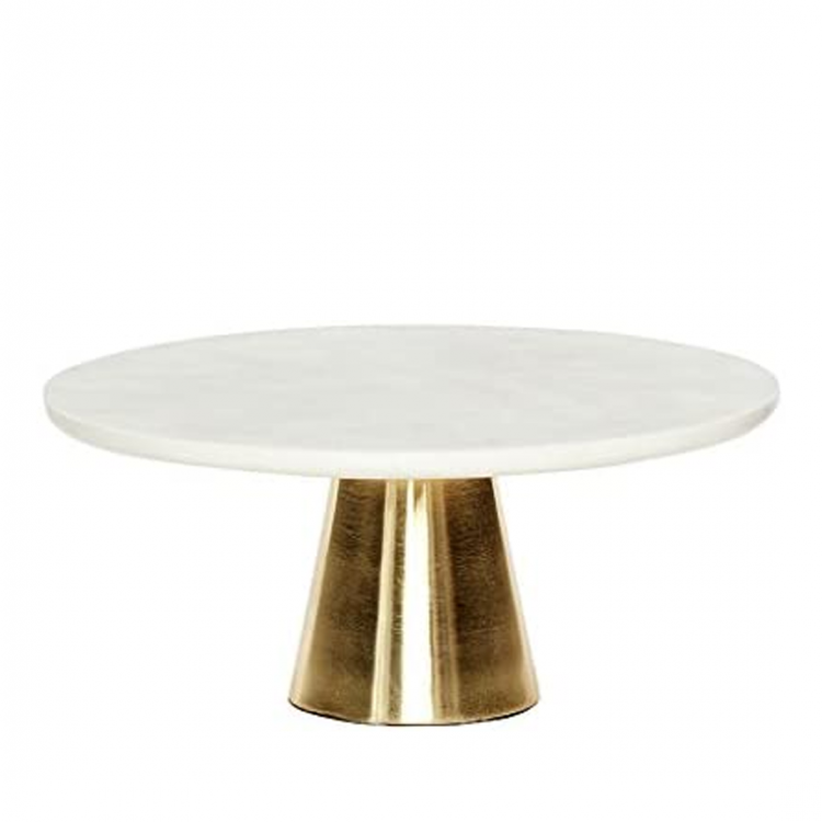 White and Gold Cake Stand