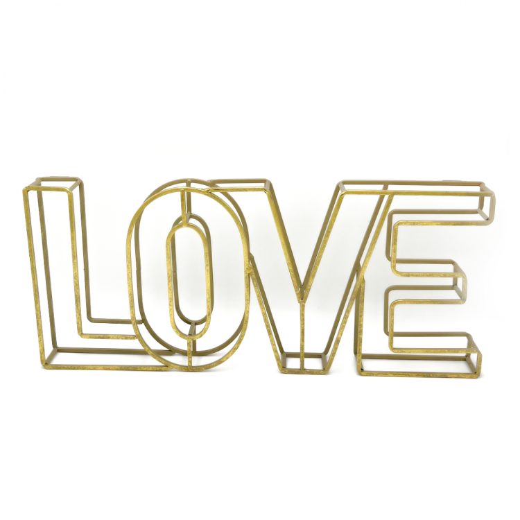LOVE Sign, Gold