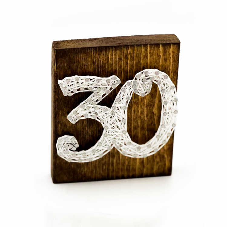 String Art Table Number