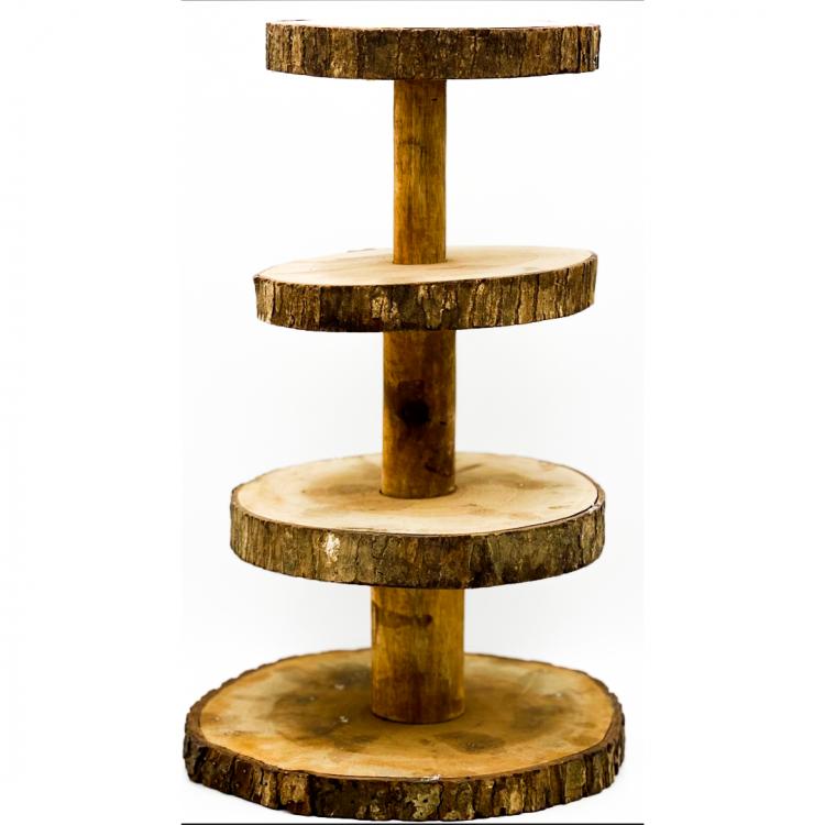 Wood Cupcake Stand